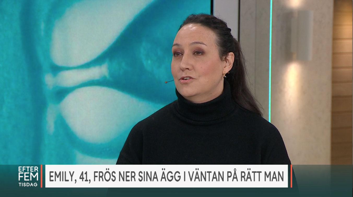 TV4:s Efter Fem lyfter äggfrysning